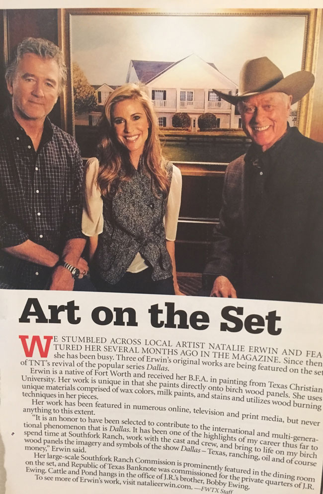 Natalie in Fort Worth Texas Magaze